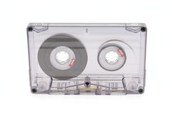 Audio tape  on white background Royalty Free Stock Photos
