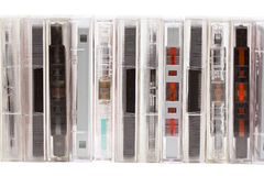 Audio tapes Royalty Free Stock Images