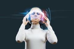 Audio technologies Royalty Free Stock Image