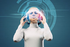 Audio technologies Stock Photo