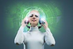 Audio technologies Stock Image