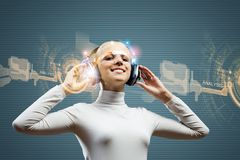 Audio technologies Stock Images