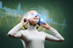 Audio technologies Royalty Free Stock Photography