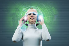 Audio technologies Royalty Free Stock Photo