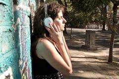 Audio urbain Photographie stock