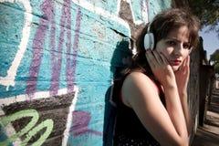 Audio urbain Photo libre de droits