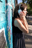 Audio urbano Imagenes de archivo