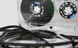 Audio vassoio fotografie stock libere da diritti