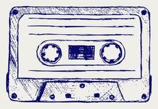 Audio vassoio illustrazione vettoriale