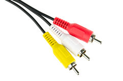 audio-video analog cable Stock Photo