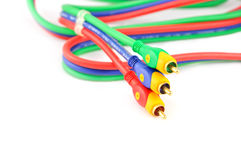 Audio video cable Royalty Free Stock Photography