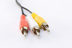 Audio Video Cable Stock Photos