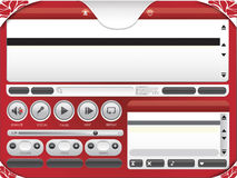Audio Video Karaoke Player Template 01 Stock Images