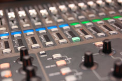 Audio and video Mixer Stock Photos