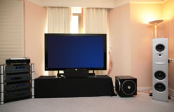 Audio video system Stock Images