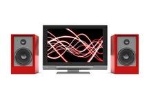 Audio-Video System Stockbild