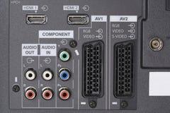 Audio videoInput royalty-vrije stock fotografie