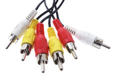 Audio Visual Cables Stock Photos