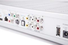 Audio-visuelle Verbinder Lizenzfreies Stockfoto