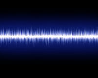 Audio wave royalty free illustration