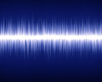 Audio wave Royalty Free Stock Photos