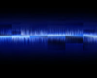 Audio wave Royalty Free Stock Photography