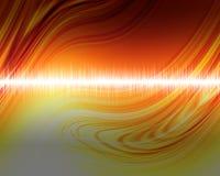 Audio wave Royalty Free Stock Photos