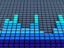 Audio wave Stock Photos