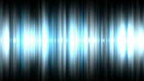 Audio waveform stock footage