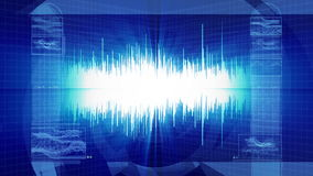Audio Waveform Sound Technology Royalty Free Stock Images
