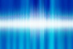 Audio waves Royalty Free Stock Images