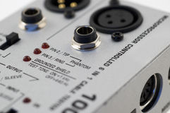 Audio wire tester Royalty Free Stock Image