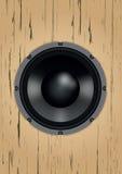 audio zamkniętego wyposażenia muzykalny mówca muzykalny Obrazy Royalty Free
