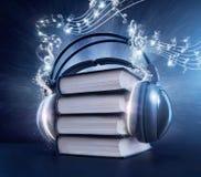 Audioboekconcept Royalty-vrije Stock Fotografie