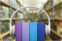 Audioboeken Royalty-vrije Stock Afbeeldingen
