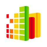 Audioboekenteken vector illustratie