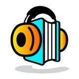 Audioboekteken royalty-vrije illustratie