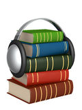 Audiobook. Conceptual image - new technologys. Audiobook Stock Photography
