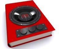 Audiobook Imágenes de archivo libres de regalías