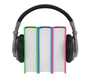 Audiobook Stock Photo