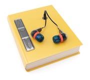 Audiobook Arkivfoton