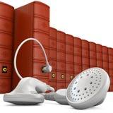 Audiobook_5 Stock Afbeelding