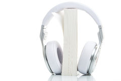 Audiobook concept - listen to your books in HD quality; hi-end h Stock Photos