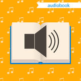 Audiobook,  icon. Royalty Free Stock Photography