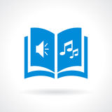 Audiobook icon Stock Photography