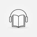 Audiobook vector icon Stock Photo