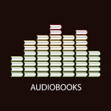 Audiobook volume concept Royalty Free Stock Photo