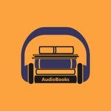 Audiobooks商标 库存图片