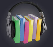 Audiobooks Stock Image
