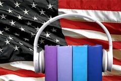 Audiobooks Imagen de archivo libre de regalías